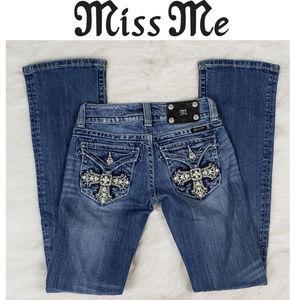 Miss Me Boot Cut Jeans JP5046B10 Size 24